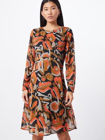 SAINT TROPEZ Kleid 'U6019' in schwarz, Modelansicht
