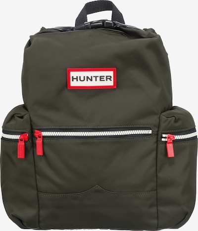 HUNTER Original Topclip Mini Backpack Tagesrucksäcke in dunkelgrün, Produktansicht
