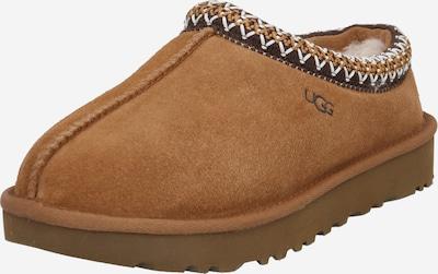 UGG Huisschoenen 'TASMAN' in de kleur Bruin / Donkergroen / Wit, Productweergave
