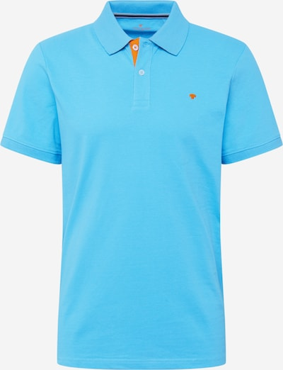 TOM TAILOR Poloshirt in himmelblau / orange, Produktansicht