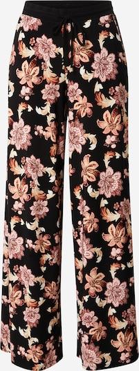 Lauren Ralph Lauren Broek in de kleur Crème / Rosa / Zwart, Productweergave