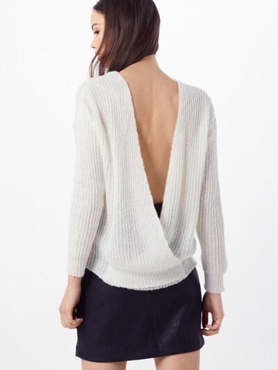 Megztinis 'crossback jumper' iš Missguided , spalva - balta: Vaizdas iš galinės pusės