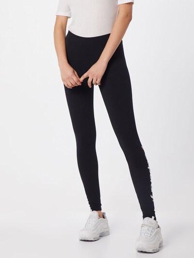 Superdry Leggings in schwarz, Modelansicht