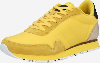 WODEN Sneakers laag 'Nora III' in de kleur Citroen / Goud / Zwart, Productweergave