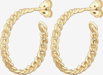 ELLI Ohrringe 'Creole' in gold, Produktansicht