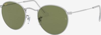 Ray-Ban Zonnebril 'Round metal' in de kleur Grijs / Zilver, Productweergave