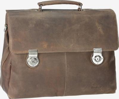 Harold's Aktentasche 'Antico' in taupe, Produktansicht