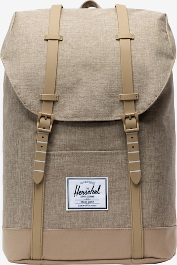 Herschel Rucksack in sand / brokat, Produktansicht