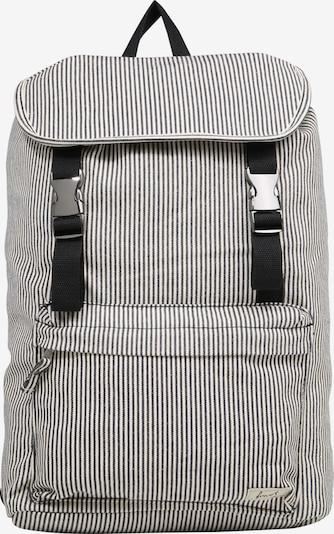 Forvert Rucksack 'Charlie' in grau / schwarz / weiß, Produktansicht