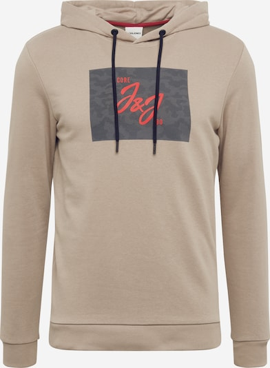JACK & JONES Sweatshirt 'JCOSOPP' in beige, Produktansicht