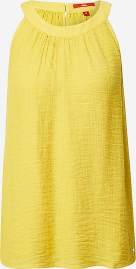 s.Oliver Blouse in de kleur Geel, Productweergave