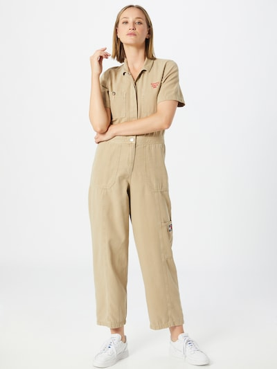 Tommy Jeans Jumpsuit in beige, Modelansicht