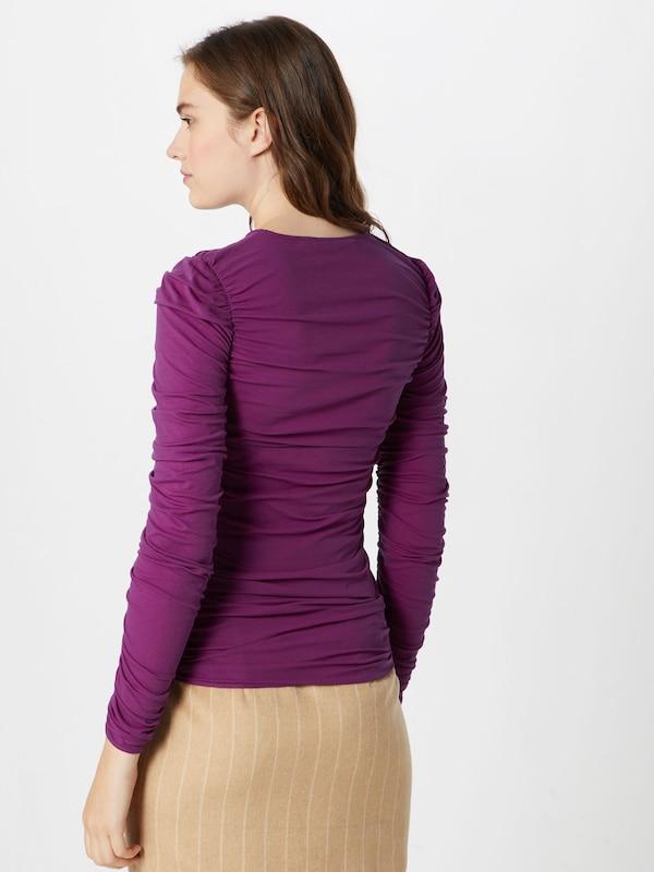Postyr Oversize Violet Tee' En shirt Ls T 'poskrusemynte tsdQrCh
