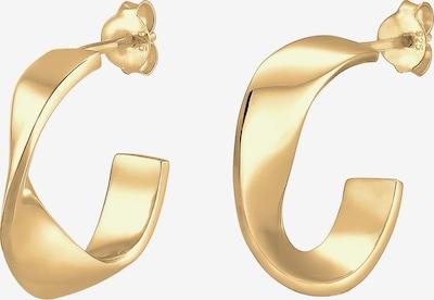 ELLI Oorbellen 'Creole' in de kleur Goud, Productweergave