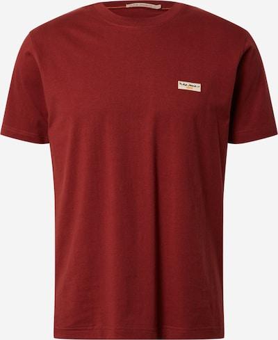 Maglietta 'Daniel Logo' Nudie Jeans Co di colore rosso ruggine, Visualizzazione prodotti