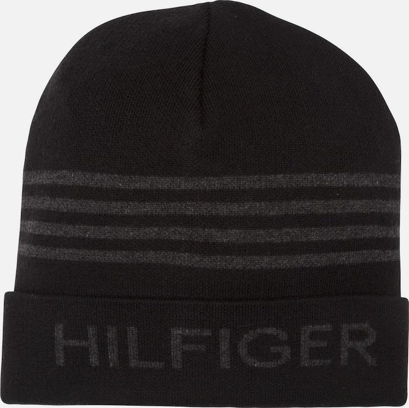 TOMMY HILFIGER Tommy Hilfiger Müzte »HILFIGER BEANIE«