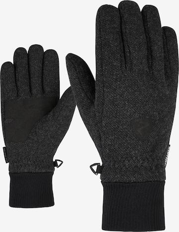 ZIENER Fingerhandschuhe 'Ildo Glove Multisport' in Grau