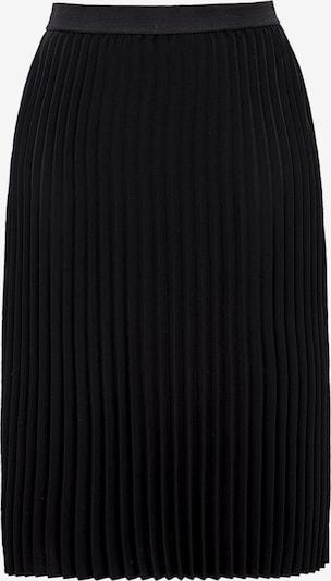 TRIANGLE Faltenrock in schwarz, Produktansicht