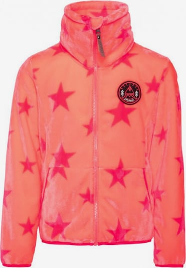 PROTEST Sweajacke 'Bellevue' in orange / pink, Produktansicht