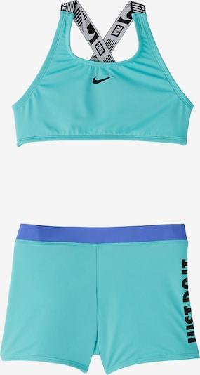 NIKE Bikini CROSSBACK SPORT BIKINI & SHORT SET in grün, Produktansicht