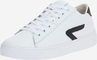 HUB Baskets basses en noir / blanc, Vue avec produit