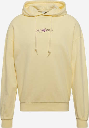 JACK & JONES Sweatshirt 'JORREMI TC120' in pastellgelb, Produktansicht