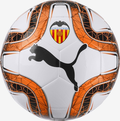 PUMA Bal 'Valencia CF FINAL 6' in de kleur Donkeroranje / Wit, Productweergave