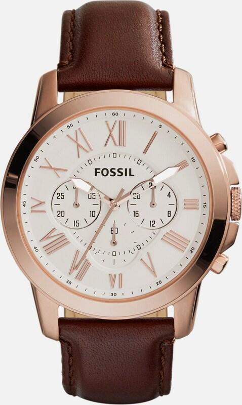 Fossil Chronograph, Grant, Fs4991