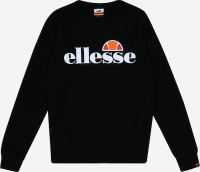 ELLESSE Sweatshirt 'Suprios' in orange / rot / schwarz / weiß, Produktansicht