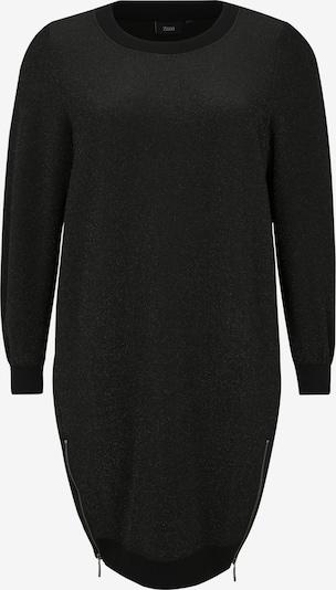 Zizzi Kleid 'M57328B' in schwarz, Produktansicht
