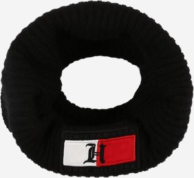 TOMMY HILFIGER Sjaal in de kleur Rood / Zwart / Wit, Productweergave