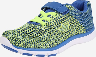 LICO Sneaker 'Famos VS' in blau / zitrone: Frontalansicht