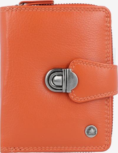 GREENBURRY Portemonnee in de kleur Donkeroranje, Productweergave