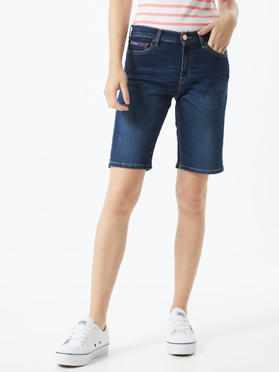 Tommy Jeans Jeans in blue denim: Frontalansicht
