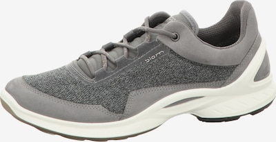 ECCO Schnürschuhe in grau / hellgrau / weiß, Produktansicht