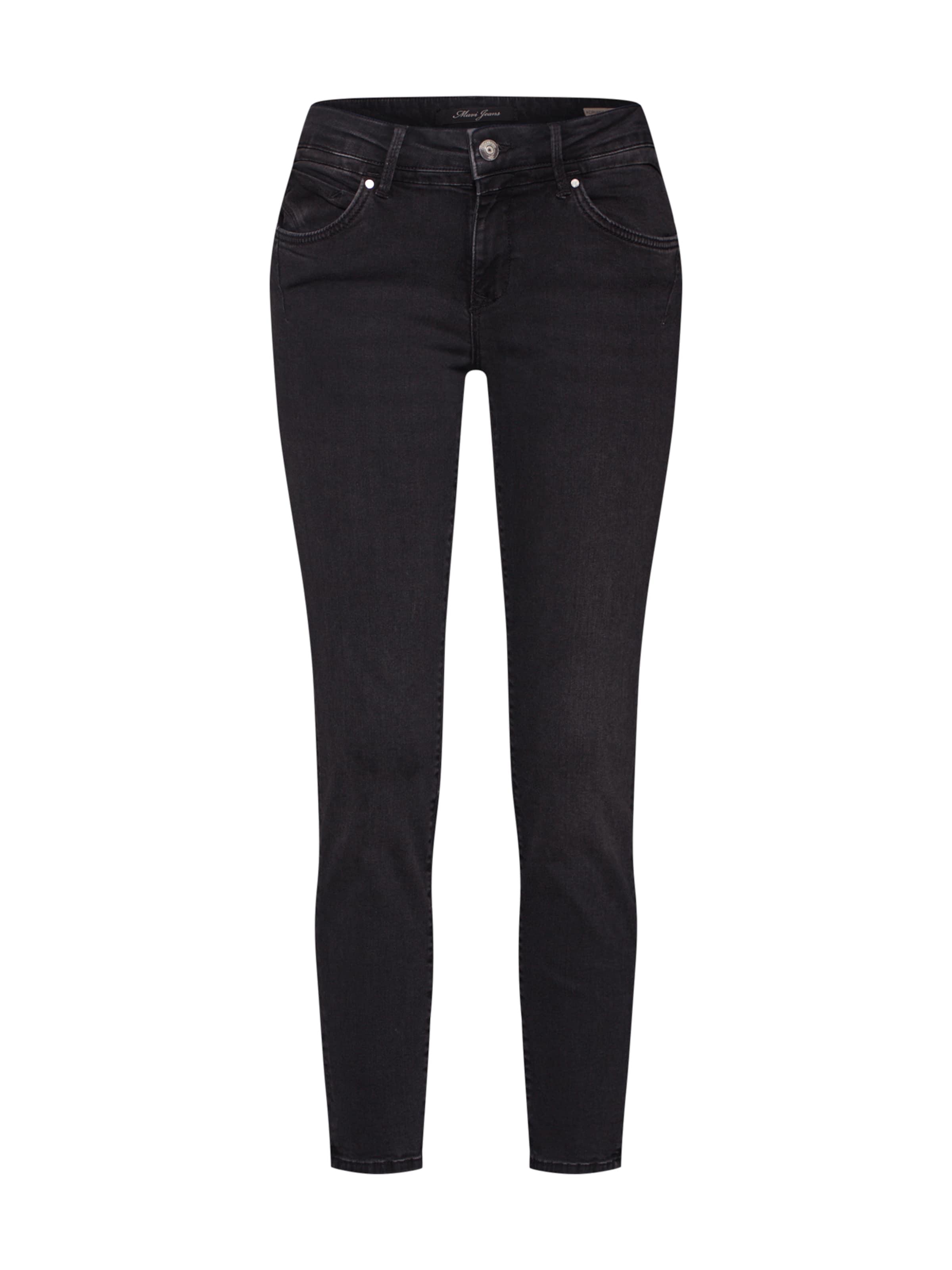 Mavi 'adriana' Denim Black Jeans In HW9E2DI