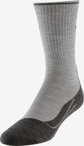 FALKE Sportssokker i grå