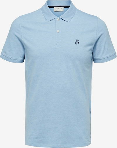 SELECTED HOMME Poloshirt in rauchblau, Produktansicht
