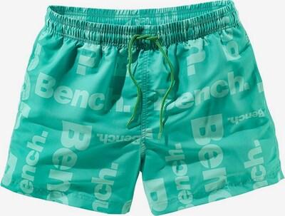 BENCH Badeshorts, lange Form in hellgrün, Produktansicht