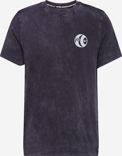 NIKE Funkcionalna majica | svetlo siva / črna barva, Prikaz izdelka