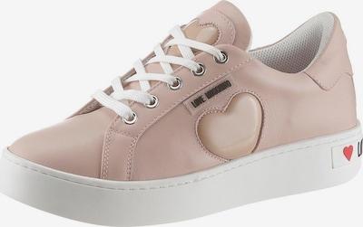 Love Moschino Sneaker in rosé, Produktansicht
