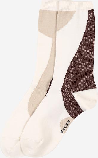 FALKE Socken 'Grafic Jam SO' in beige / creme / braun, Produktansicht