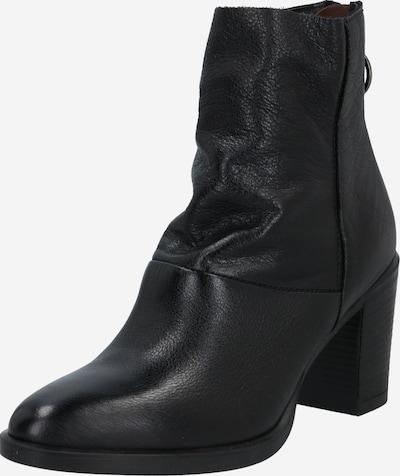 MJUS Enkellaarsjes 'Sangria' in de kleur Zwart, Productweergave