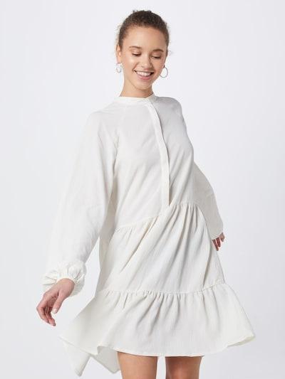 mbym Damen - Kleider 'Marranie' in weiß, Modelansicht