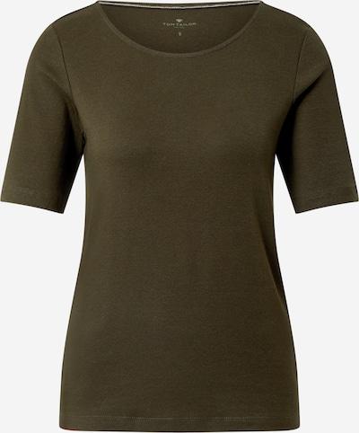TOM TAILOR T-Shirt in oliv: Frontalansicht