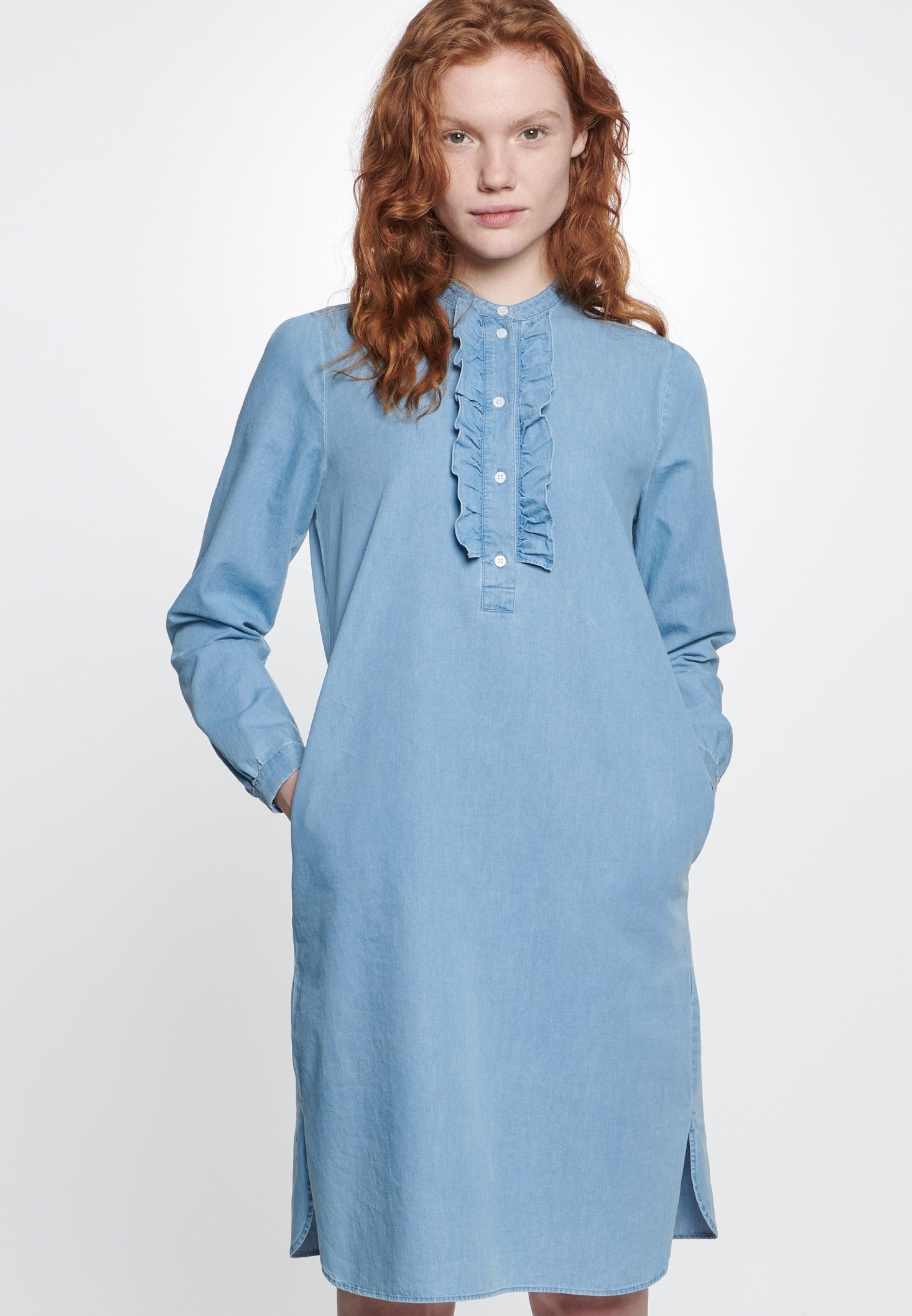 En Bleu Seidensticker Robe Rose Schwarze ' chemise jSMLGzpUqV