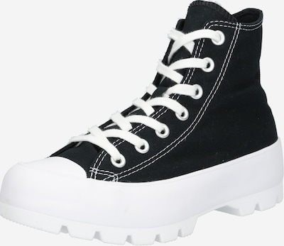 CONVERSE Sneakers hoog 'Chuck Taylor All Star Lugged' in de kleur Zwart / Wit, Productweergave