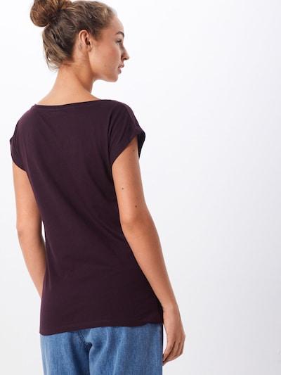 Iriedaily T-shirt 'Hopi Tee' en aubergine: Vue de dos