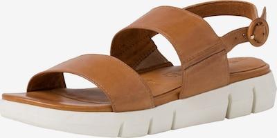 Sandale cu baretă TAMARIS pe maro deschis, Vizualizare produs