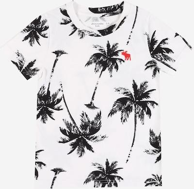 Abercrombie & Fitch Shirt in schwarz / weiß, Produktansicht